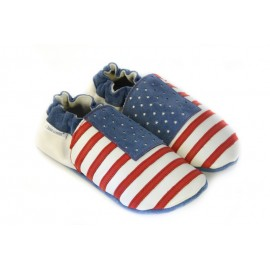 Leather slippers USA
