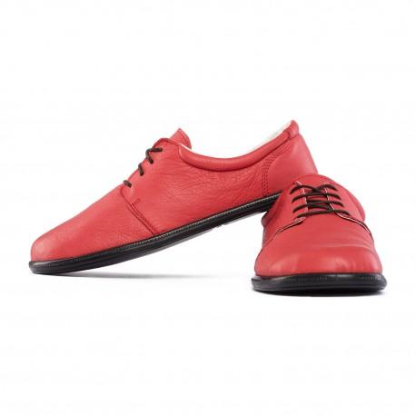 Chaussures pieds nus à lacets avec semelle biodégradable