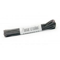 Grey round laces