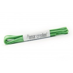 Green round laces
