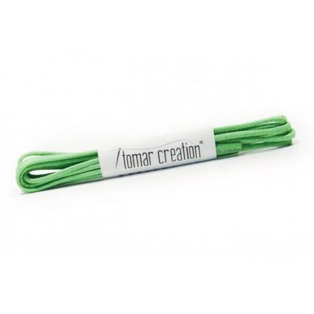 Zelené guľaté šnúrky