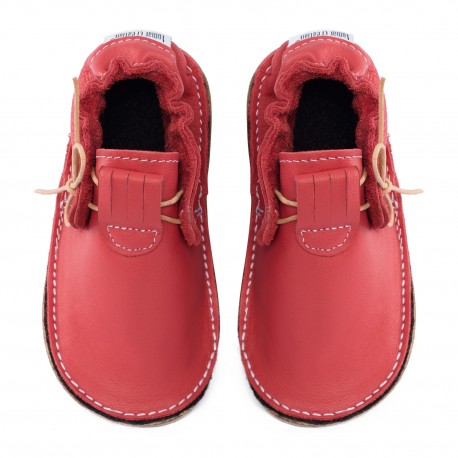 Moccasins rosso feuco