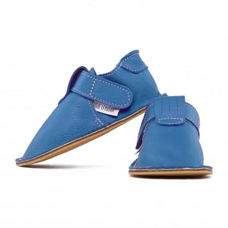 Capačky so suchým zipsom - jeans