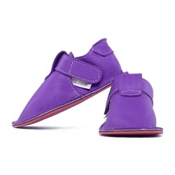 soft sole shoes - fuxia