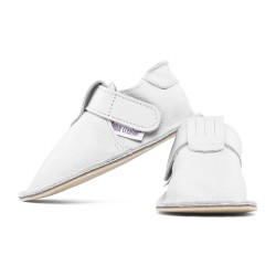 soft sole shoes - bianco