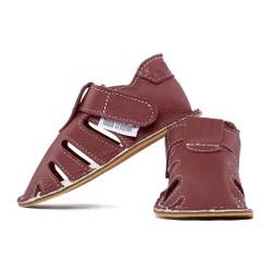 summer soft sole shoes - bordo
