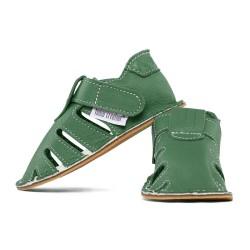 summer soft sole shoes - avocado