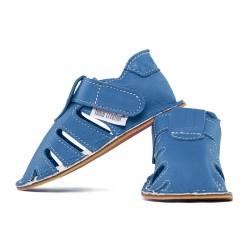 Capačky letné so suchým zipsom - jeans