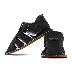 summer soft sole shoes - nero