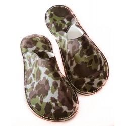 Papuče Bab´s - maskáčové