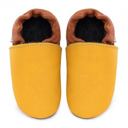 Soft leather slippers - Combine your colors
