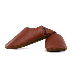 Babouche slippers - bruciato
