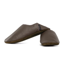 Chaussons Babouche - taupe