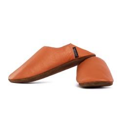 Babouche slippers - brandy