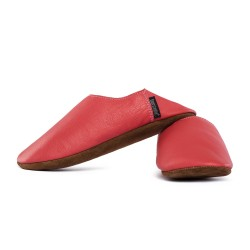 Babouche slippers - rosso fueco