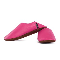 Babouche slippers - fuxia