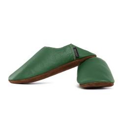 Babouche slippers - avocado
