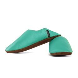 Babouche slippers - caraibe