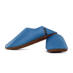 Babouche slippers - jeans