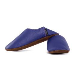 Babouche slippers - denim