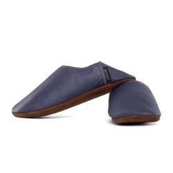 Babouche slippers - blu marino