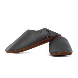 Babouche slippers - fog