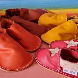 🎨 Zmena a výber farebnej kombinácie je bez poplatku👣 #tomarcreation #barefootshoes #barefootslippers #handmade