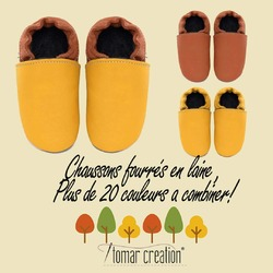 👣🍂 #tomarcreation #barefootshoes #chaussons #chaussonsencuir #leathershoes #barefoot #handmade #madeinslovakia