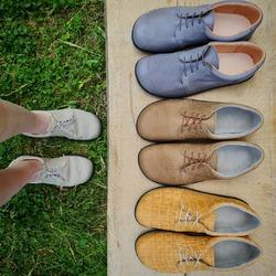 Barefoot Trendy 👣 👉🏼 dostupné aj v Bio koži 👉🏼 nové materiály na výber 👉🏼 limitovaná edícia Croco #tomarcreation #barefootshoes #barefootobuv #barefoot #leathershoes #handmade #biodegradable #madeinslovakia